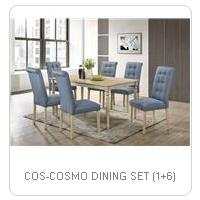 COS-COSMO DINING SET (1+6)
